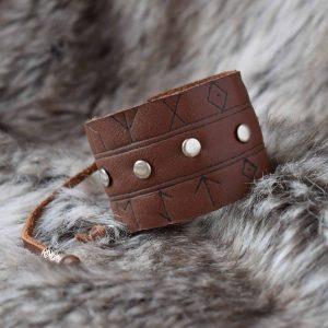 Leather Viking Bracelets
