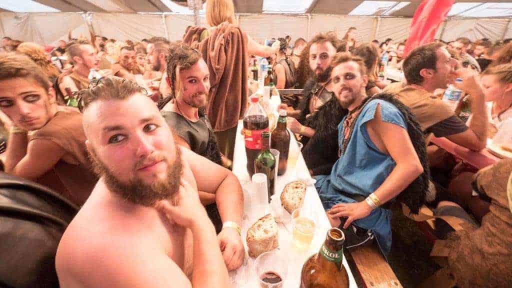 Viking Dinner in Catoira