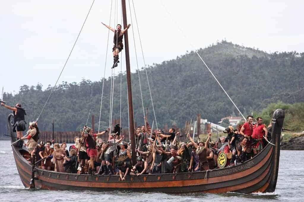 Vikings ready to raid Catoira