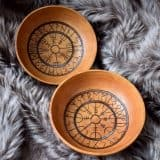 Icelandic Sigils Offering Bowls