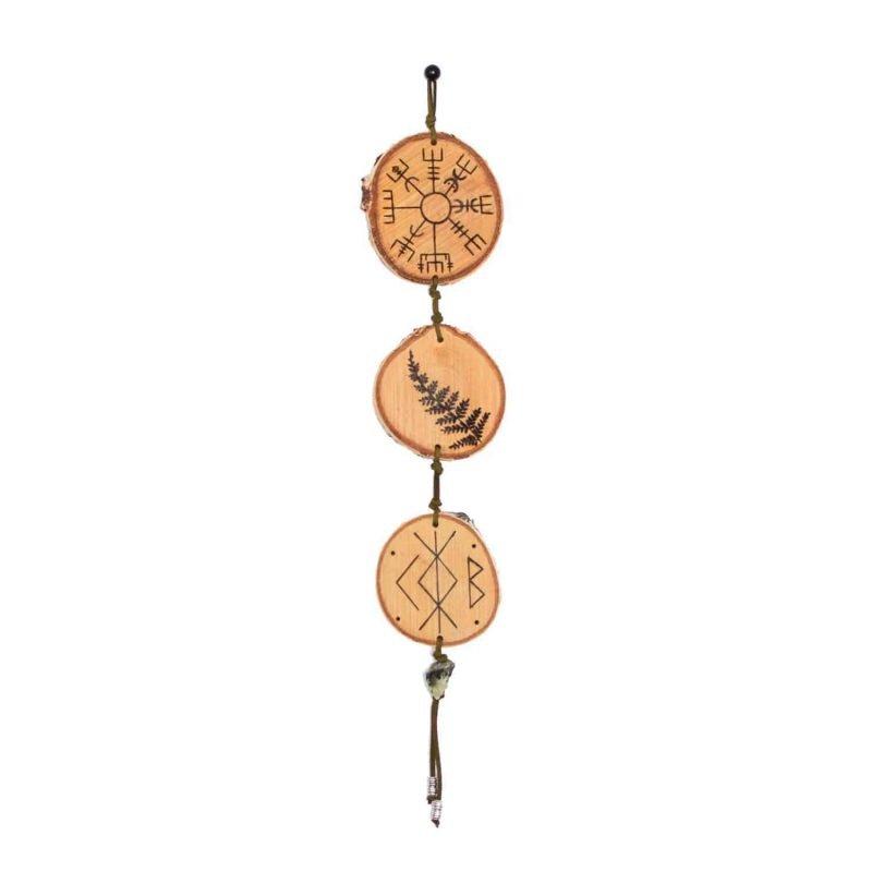 Vegvisir Amulet Home Protection Bind Rune