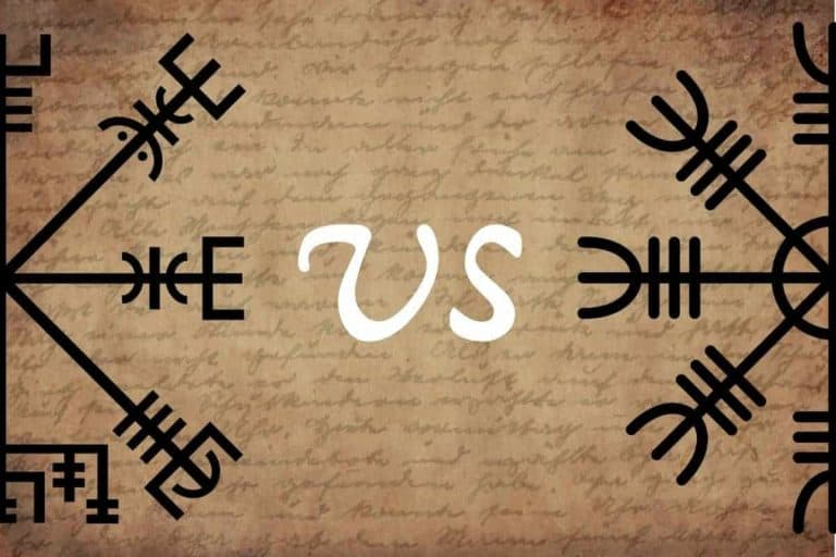 Aegishjalmur vs Vegvisir: what's the difference?