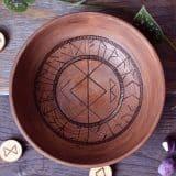 bowl walnut home protection