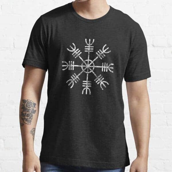 Black Helm of Awe Shirt