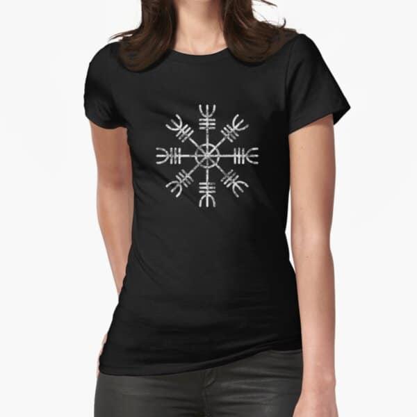 Helm of Awe Womens Viking T-shirt