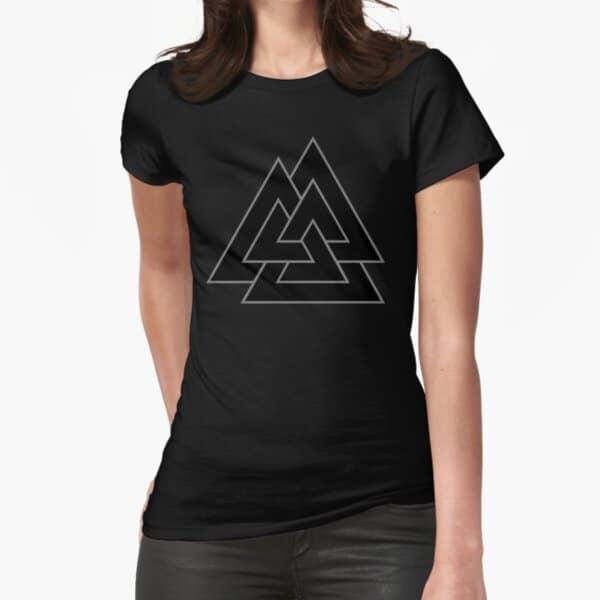 Valknut Womens Viking T-Shirt