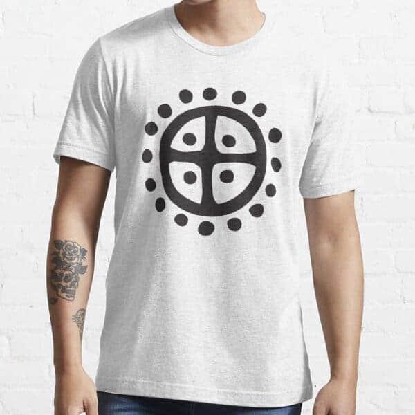 Nordic Sun Wheel T-shirt